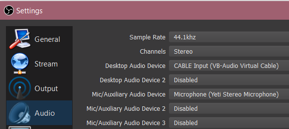 GUIDE (w/ pictures): Split Audio for Twitch Streaming in 10
