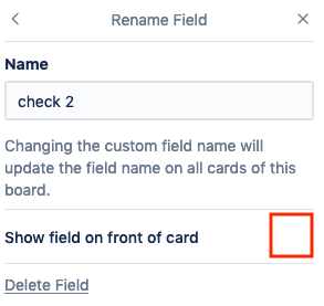 Selectively Disable Custom Fields to be Shown