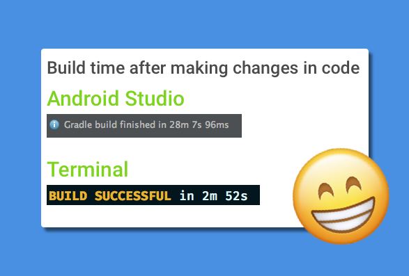 How I reduced my Android build times by 89% - AndroidPub