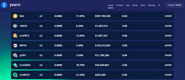 Yearn's Dai Vault —did you know it's now a top 20 DeFi protocol?