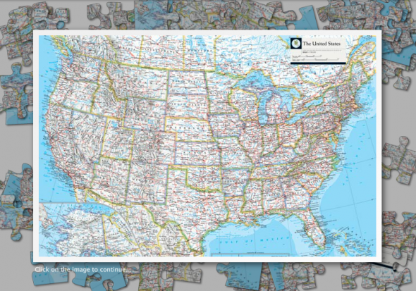 National Geographic Atlas Online Jigsaw Puzzles   Passion ...