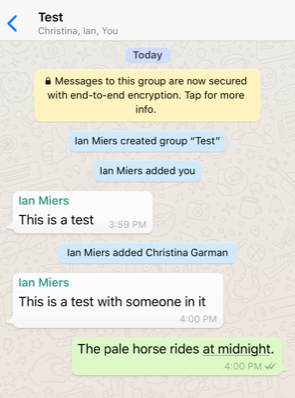 Are WhatsApp Group Chats Vulnerable to Spying despite End-to-End