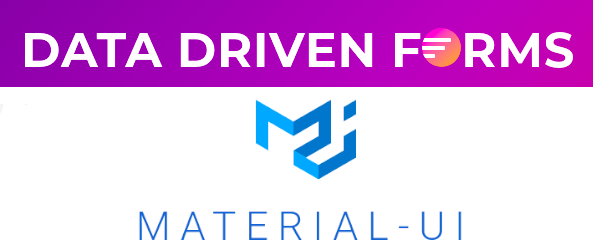 Introducing Material-UI component mapper for Data Driven Forms