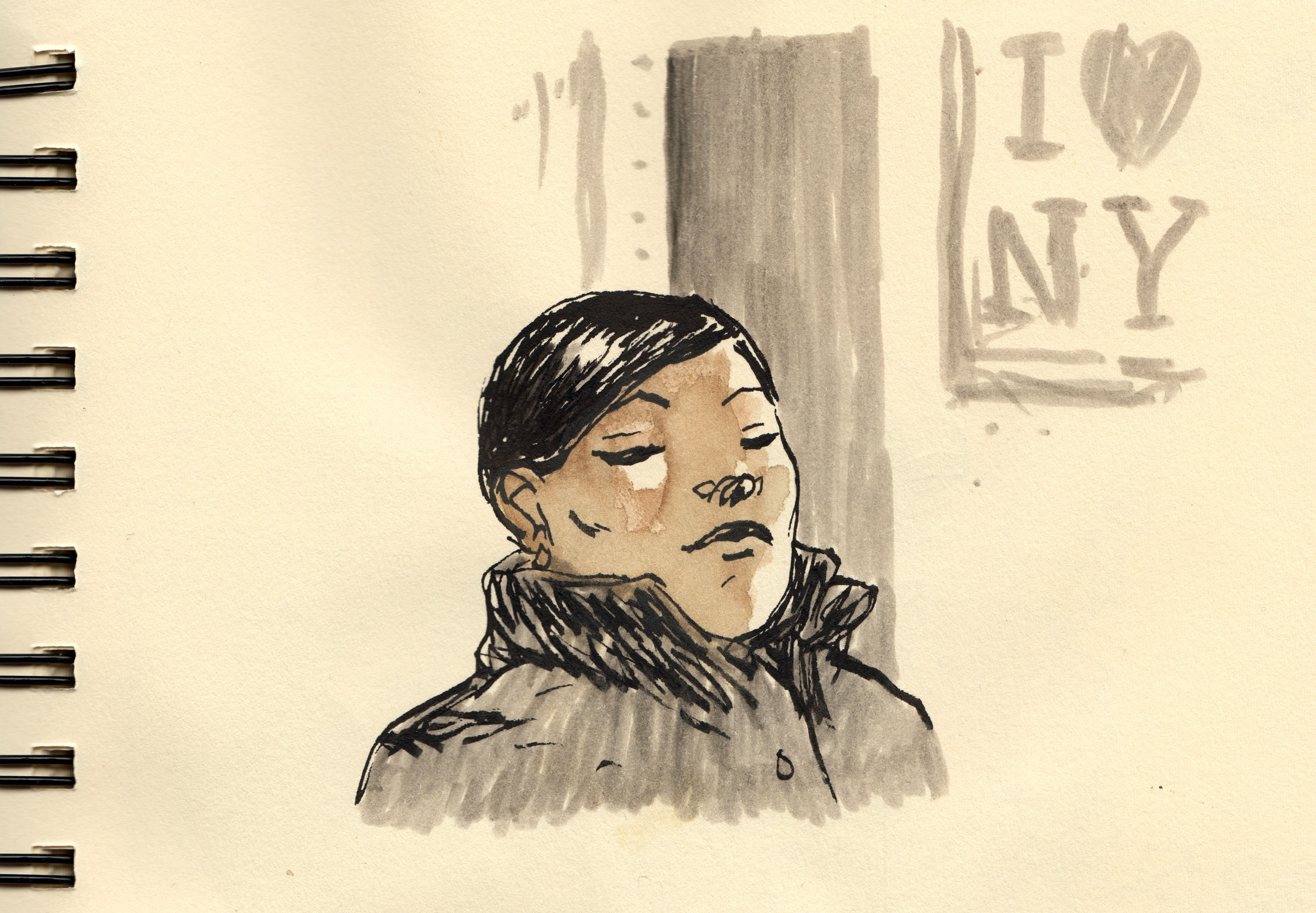 11 days of New York - The Illustrated