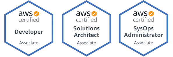 My AWS Certifications