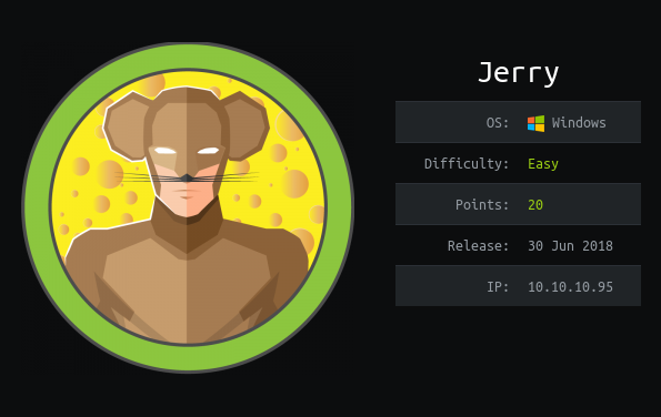 How To Hack: Jerry From HackTheBox
