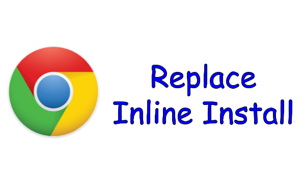 Replace Your Chrome Extension's Inline Install - NYC Design