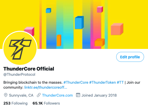 Announcement on Fake Accounts Impersonating ThunderCore