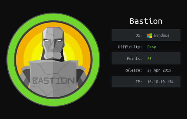 How To Hack: Bastion From HackTheBox
