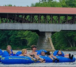 Things To Do in North Conway — Tubing the Saco River