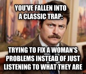 Ron Swanson's Relationship Therapy