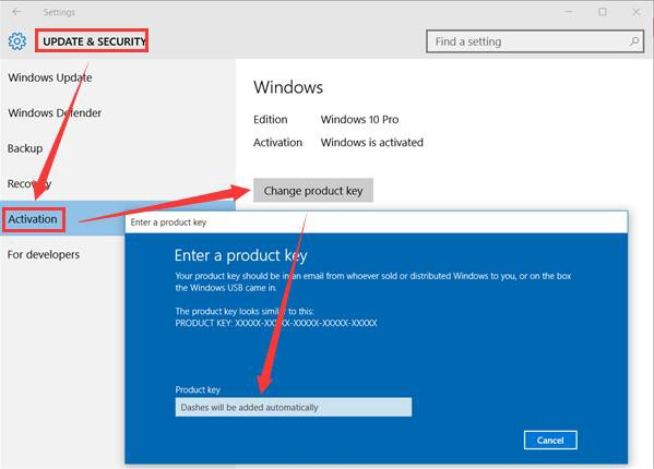 office 2016 enter different product key