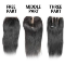 different types of lace closure