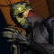 Drell Assassin Thane Krios, praying to Amonkira, Lord of Hunters