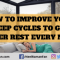 How to Improve Your Sleep Cycles to Get Better Rest Every Night