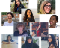 A collage of the 10 participants on the Education for Liberation Learning Marathon