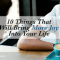 10 Things That Will Bring More Joy into Your Life