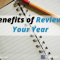 3 Benefits of Reviewing Your Year