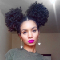 Afro Space Buns