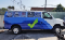 A van covered with icons that have text below them that convey their meaning