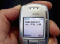 Nokia N3310 with SMS text language