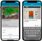 Adding a garden diary entry in Leafarise mobile app for gardeners
