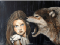 BichoDoMato here. Hi there! Painting of a wolf growling at a girl very close to her face. THe girl is unimpressed. She is not scared. You shouln't be either.:) Have a great day! Keep smiling. BichoDoMato