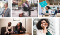 Examples of stock photography from nappy.co showing people of color in professional settings.