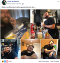 Viral Facebook post of man posing with artifacts of artifacts of the time