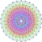 A Petrie projection of a type E8 Lie group, which is pretty…. pretty hard to explain.