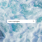"ocean waves background with search bar that reads, ""how to apologize"""