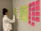 Cindy starts the affinity diagram
