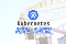 Roller coaster with Kubernetes logo on top