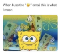 A meme where Spongebob is smiling, and behind him are the ghosts of anguish. Caption: When I use the slightly smiling face em