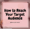 How to Reach Your Target Audience on Instagram. New blog post!