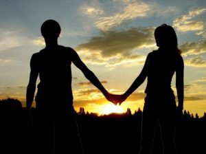 A picture of a couple holding hands to illustrate autism article