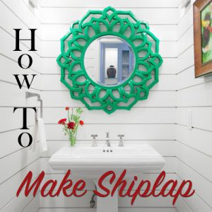 how to make shiplap