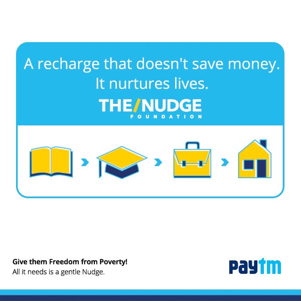 Paytm & The/Nudge Foundation join hands this Independence Day