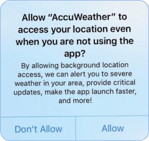 This Innocent App is Tracking You WEATHER You Like It or Not
