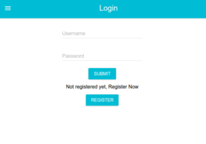 Create basic login forms using create react app module in