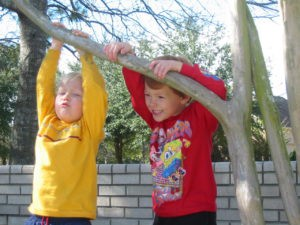 Children playing - for autism article on spectra.blog
