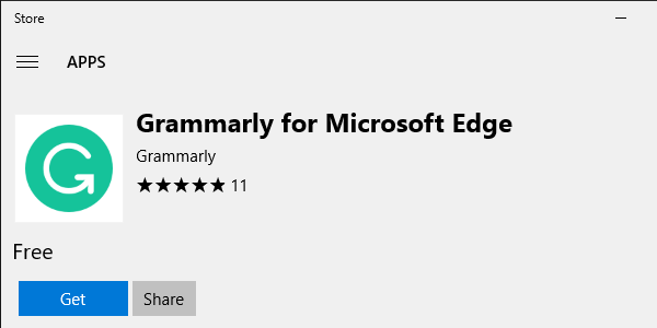 Improve your writing with a Microsoft Edge extension
