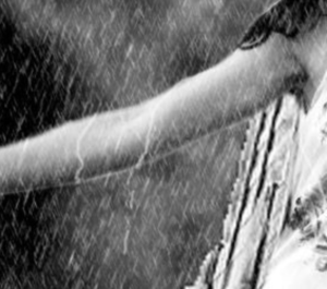"""""""Once you're wet, there's no reason to rush…dancing in the rain…"""""""