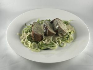 dijon cream sauce with pork tenderloin