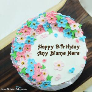Awesome Birthday Cake With Names And Photo Kanpur Cakes Medium Funny Birthday Cards Online Alyptdamsfinfo