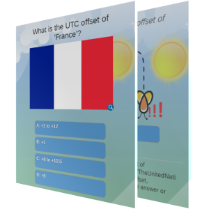 'UTC offset of countries of the world' - What is the UTC offset of ... ?