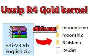 Tutorial: How to install R4i Gold Pro and update R4 kernel