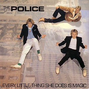 """Record cover for """"Every Little Thing She does Is Magic"""" by The Police"""