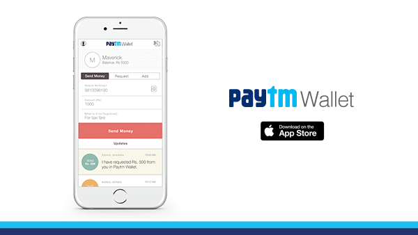The new Paytm Wallet for iOS - Paytm Blog