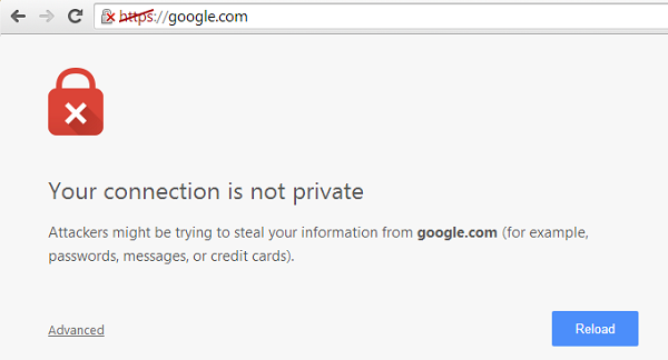 "How Can Solve ""Your Connection Is Not Private"" Error In Chrome?"